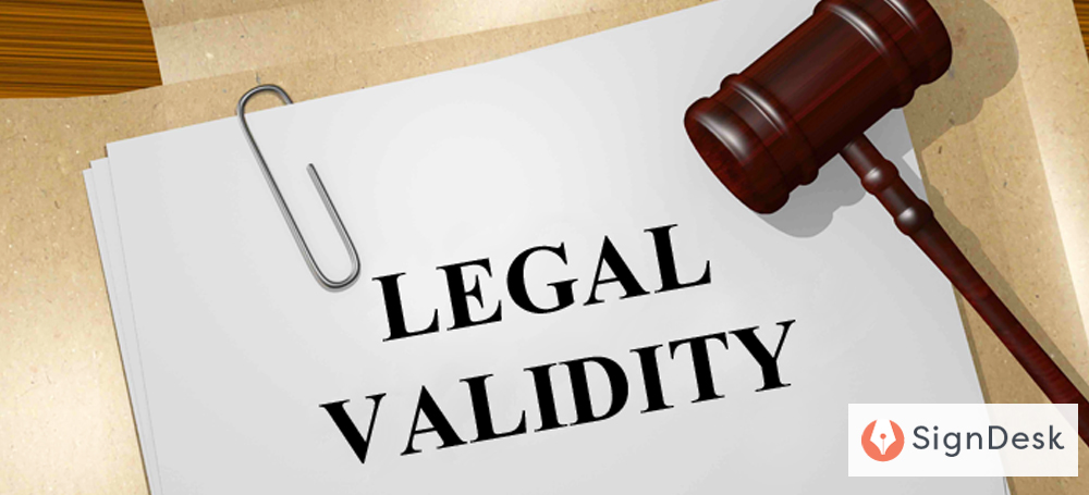 legal validity of e signatures