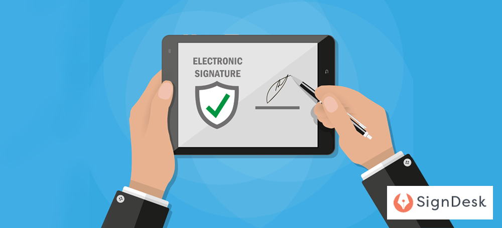 How to eSign using SignDesk