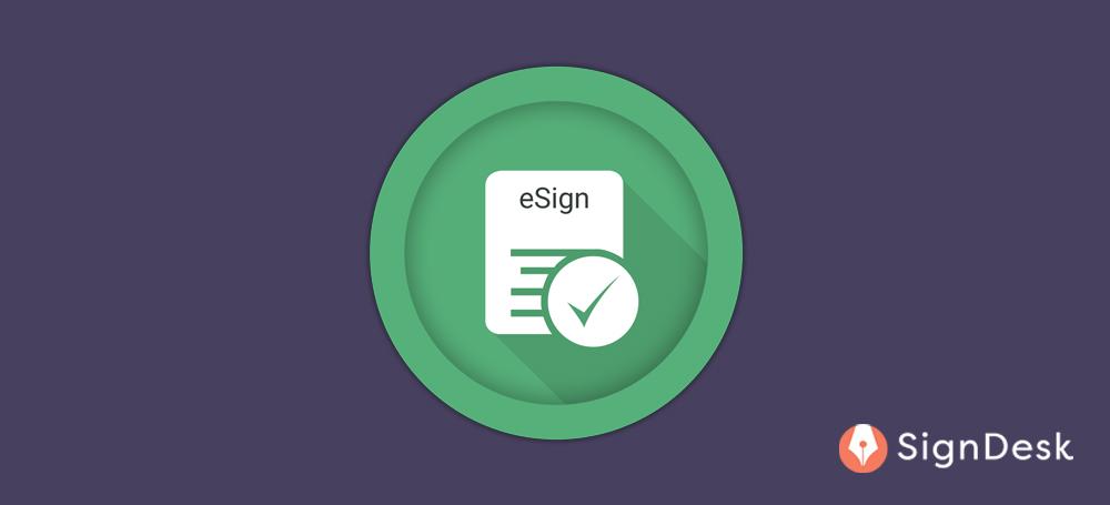 Aadhaar based eSign validity