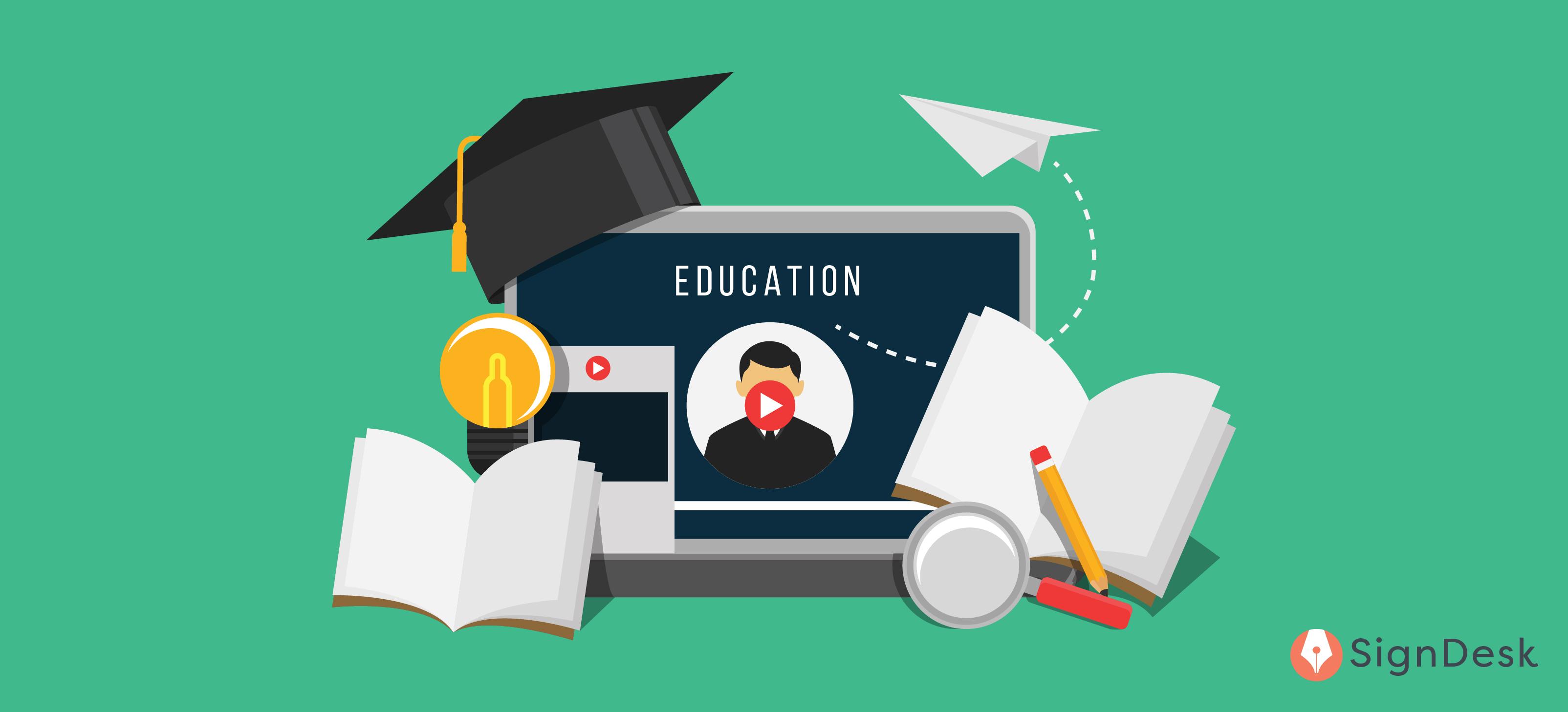 eSign in universities