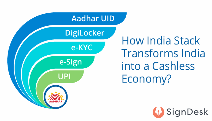 India Stack transforms India into a cashless economy