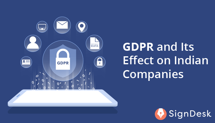 Effects of GDPR on Indian Companies