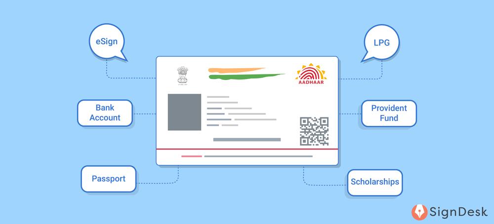 Benefits of Aadhaar card