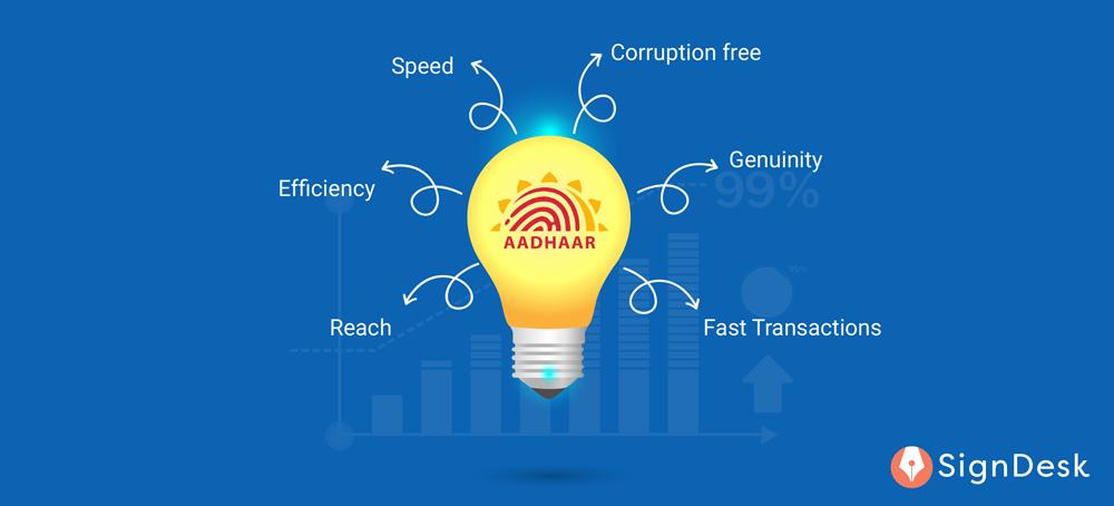 Aadhaar card and its benefits to India